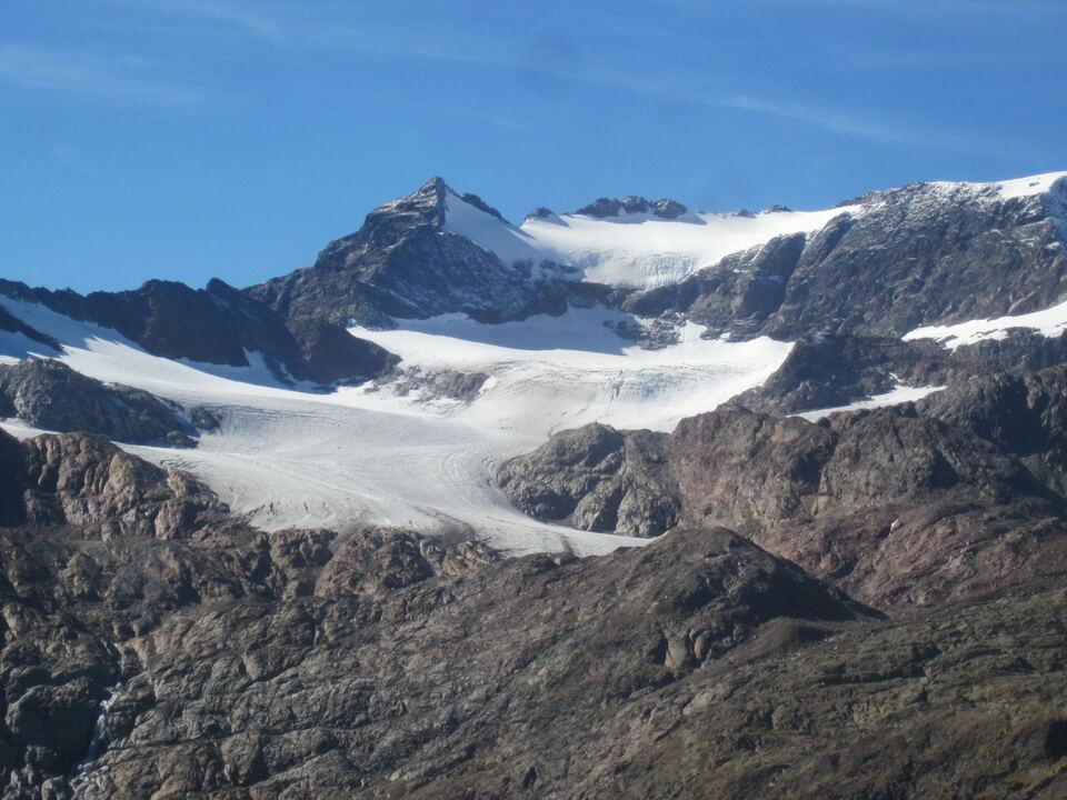 Gletscher Übeltalferner Ridnaun