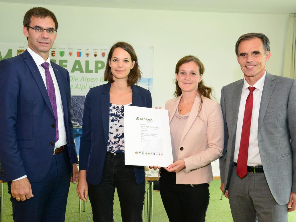Arge-Alp-Preis Sieger Südtirol 2016