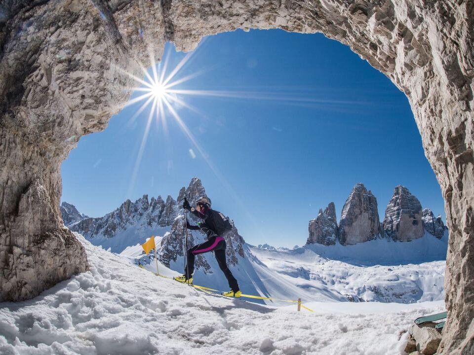 Drei Zinnen Ski Raid/Skitouren
