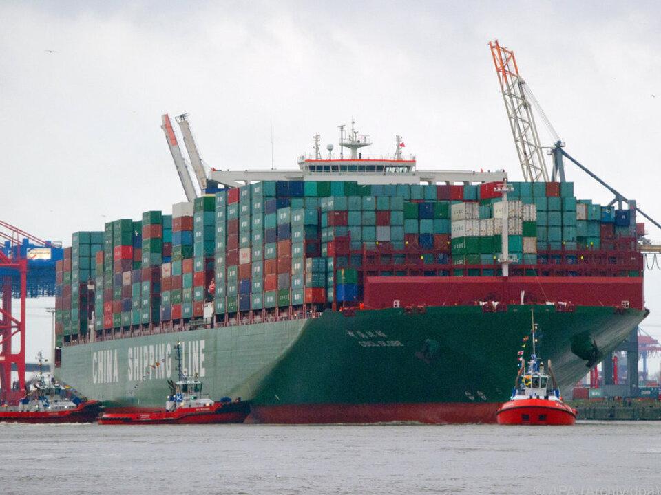 Fast 170 Mrd. Euro an Importen und Exporten