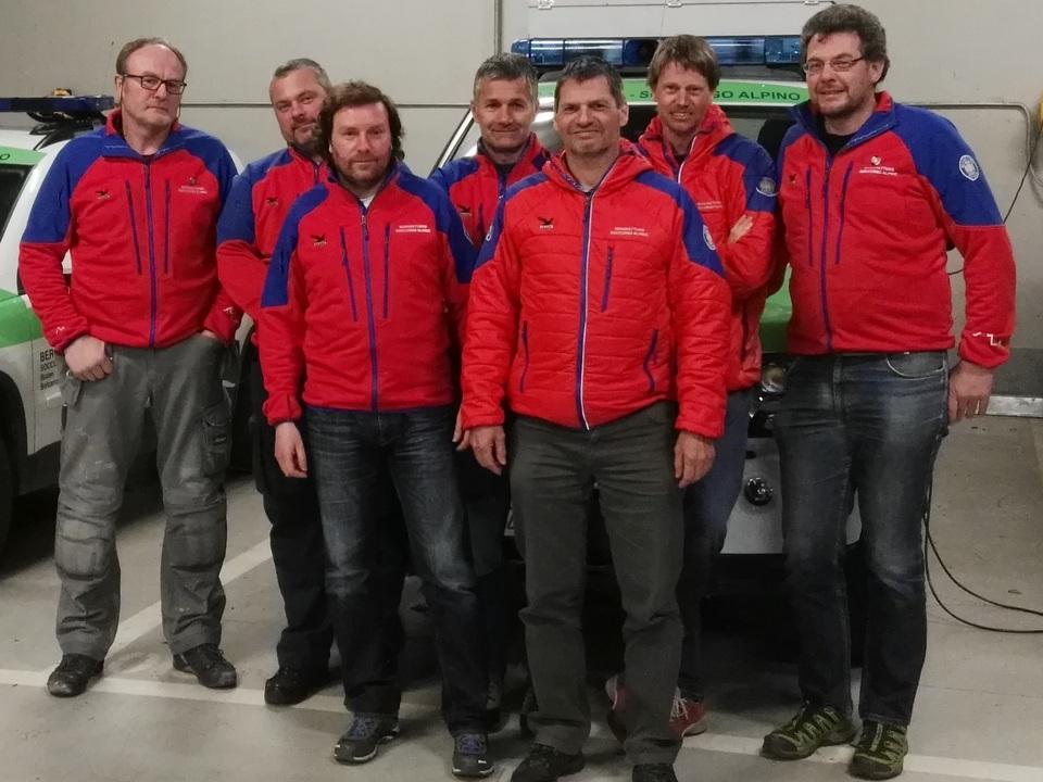 Neuer Ausschuss Bergrettungsdienst Bozen