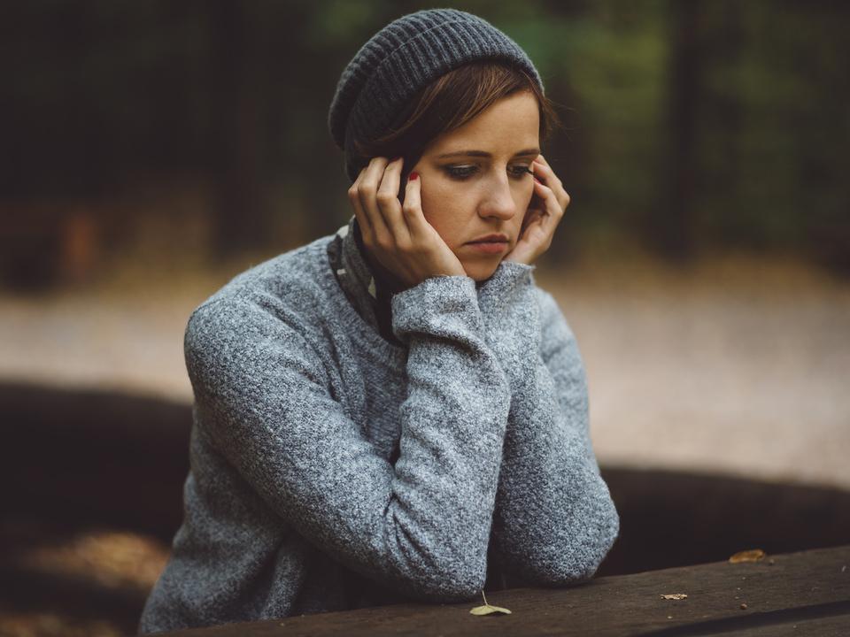 depression traurig trauer depressiv