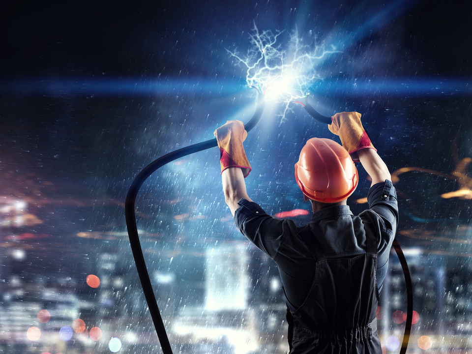 strom elektrik kabel energie kraftwerk