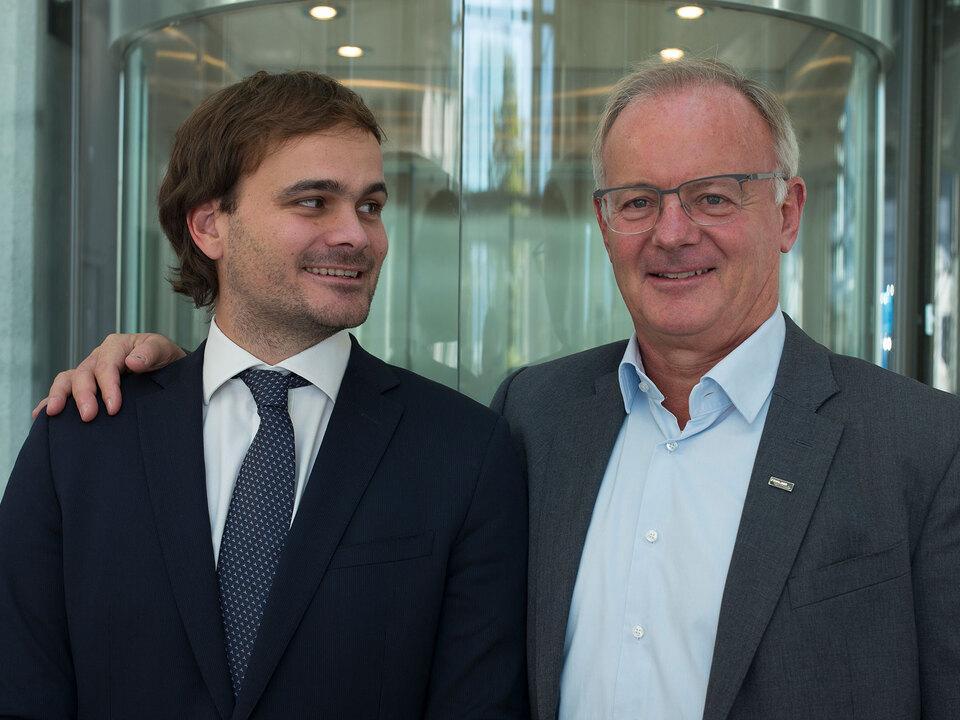 Hannes Baumgartner e Thomas Baumgartner