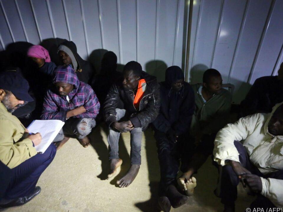 Libyen beherbergt bereits eine halbe Million Migranten