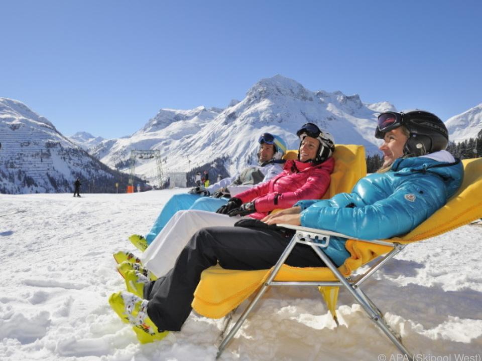 Österreicher und Deutsche machen kürzer Winterurlaub