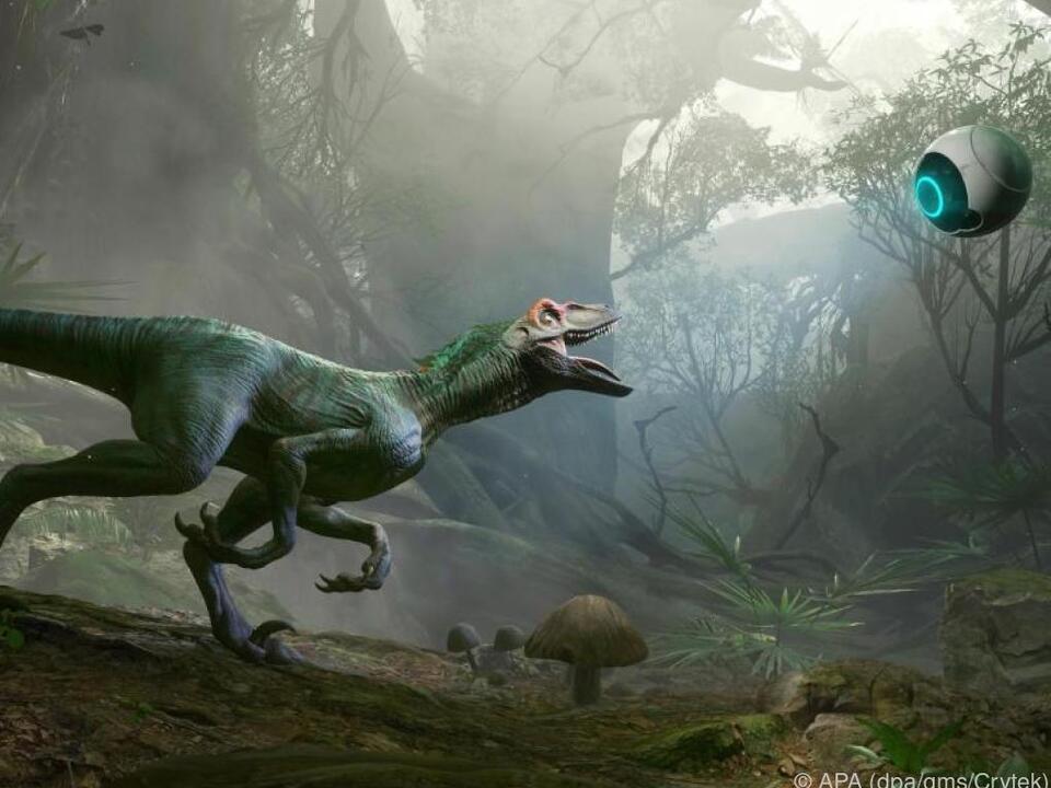 Robin strandet auf einem von Dinos bevölkerten Planeten
