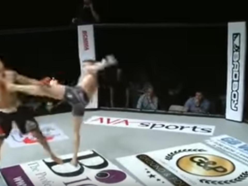 MMA-Kampf Harding vs. Segas