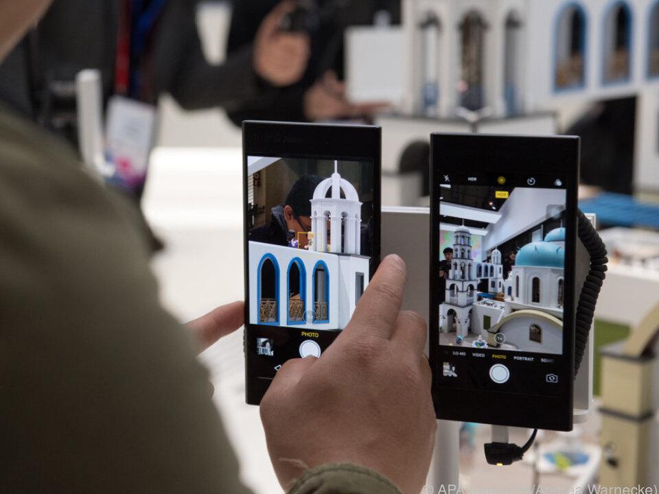 So zeigt Oppo in Barcelona die Zoomfähigkeit der neuen 5X-Kamera