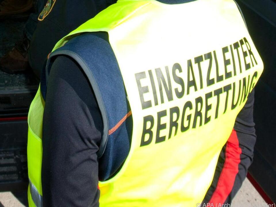 Zwei Hubschrauber, Bergrettung und Alpinpolizei waren im Einsatz