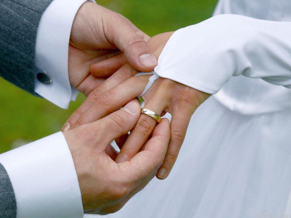 2016 wurden in Österreich 44.475 Ehen geschlossen hochzeit