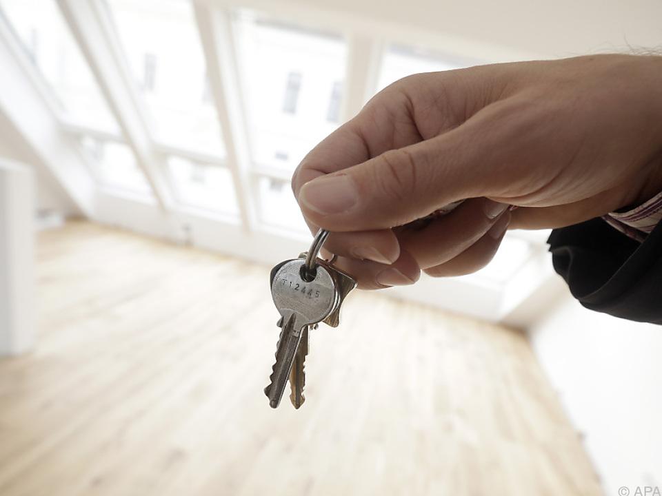 62 Prozent aller Österreicher besitzen eine Immobilie
