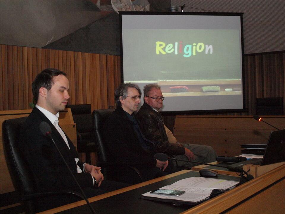 Landtag Religionslehrer