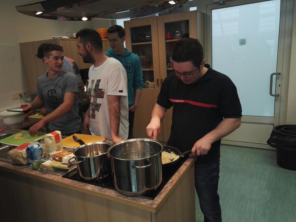 Erasmus+: Austausch Nürnberg/Berufsschule Tschuggmall Brixen