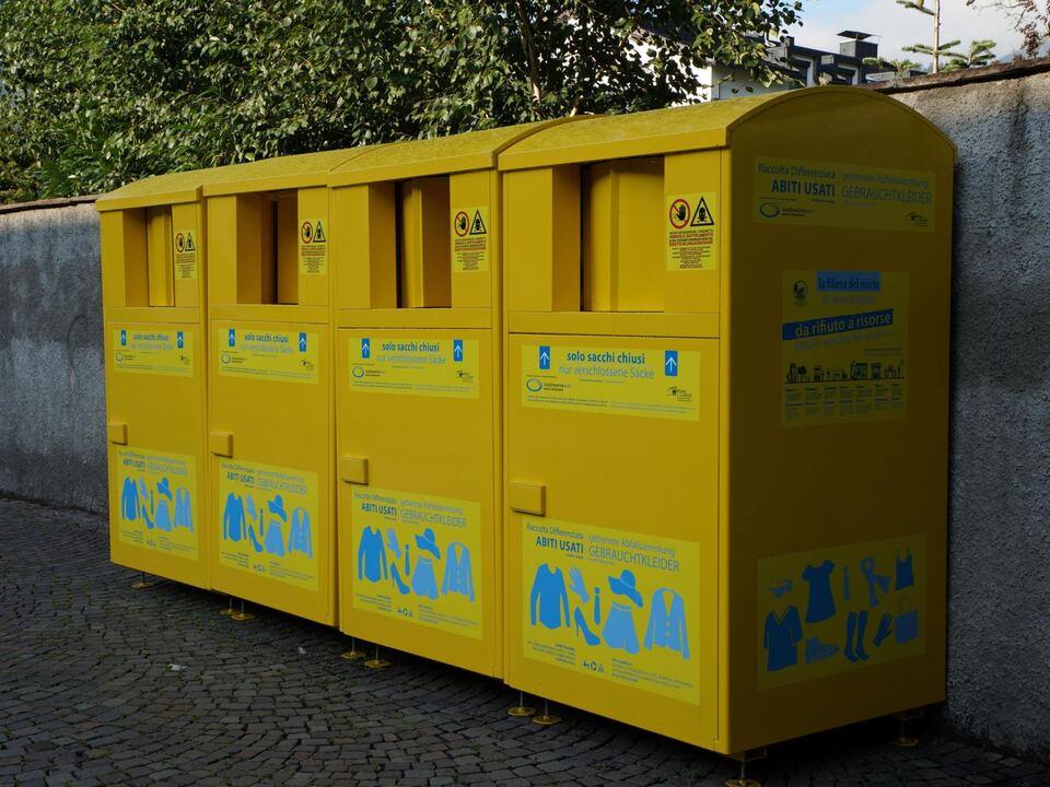 Altkleidercontainer Brixen