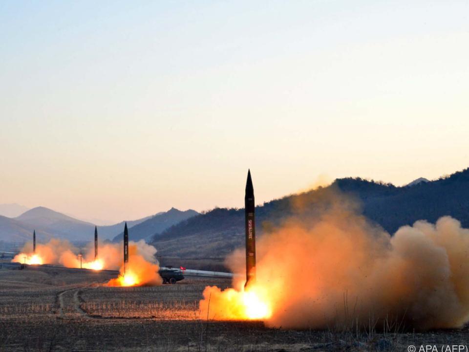 Besorgnis über Pjöngjangs \