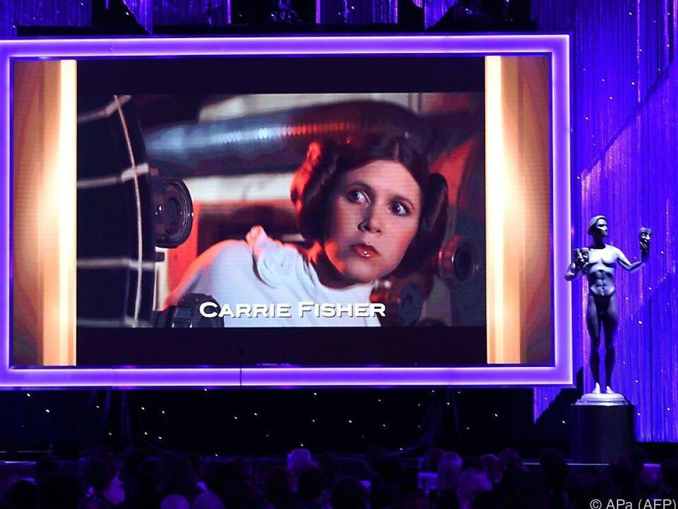 Carrie Fisher starb unerwartet im Alter von 60 Jahren