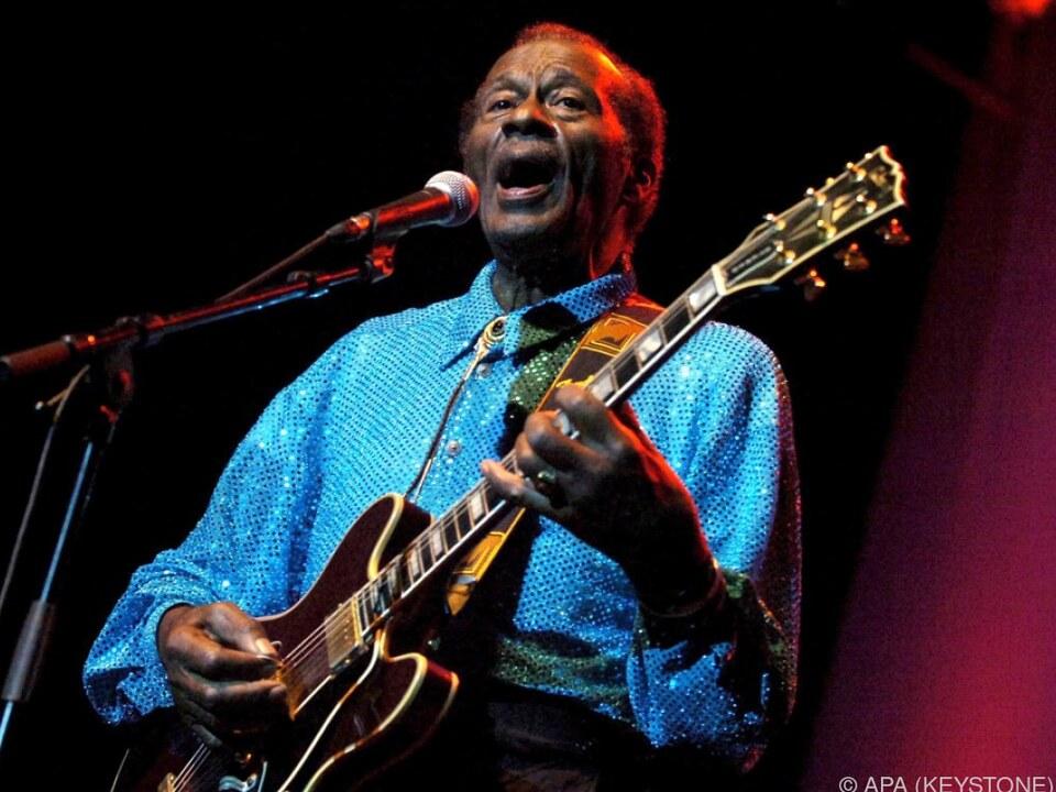 Chuck Berry war am Samstag im Alter von 90 Jahren verstorben