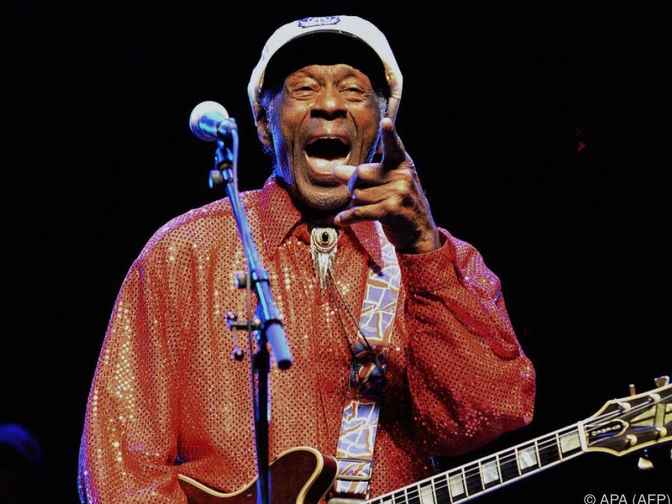 Chuck Berry wurde 90 Jahre alt