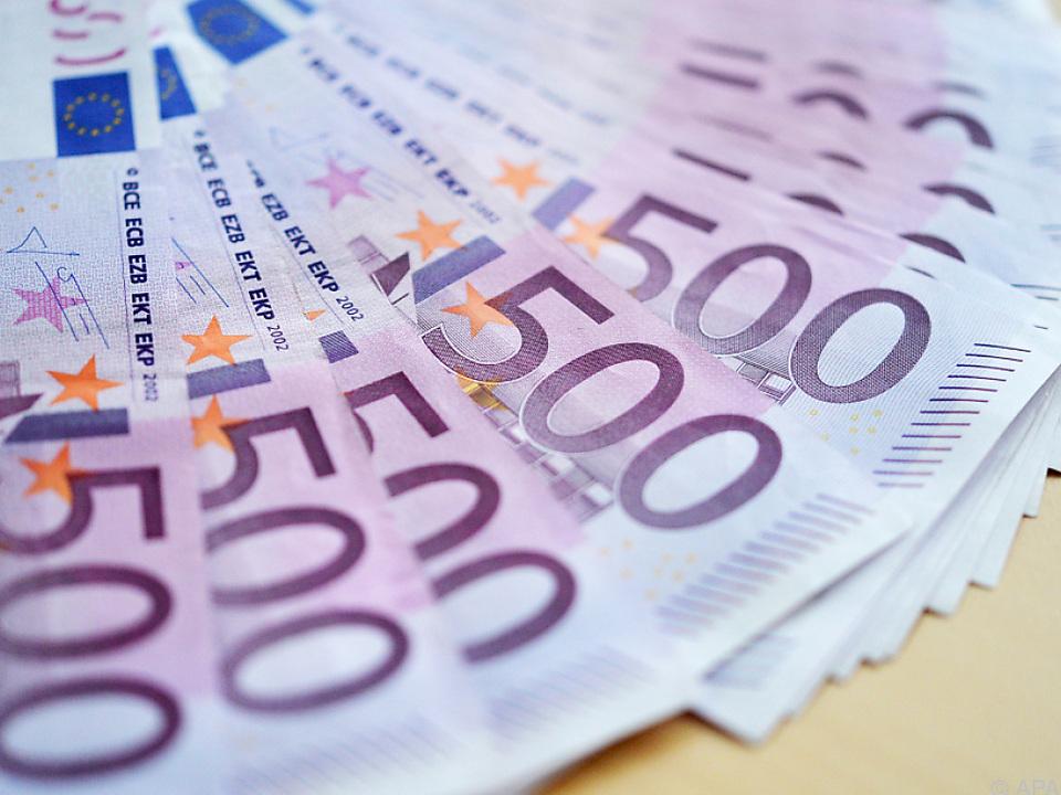 Das Geld floss zwischen 2010 und 2014