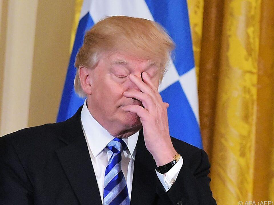 Sorry, Donald! Republikaner sehen keine Mehrheit für Trumps Gesundheitsreform