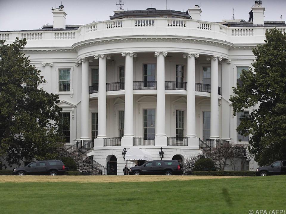 Das Weiße Haus wurde erneut gesperrt