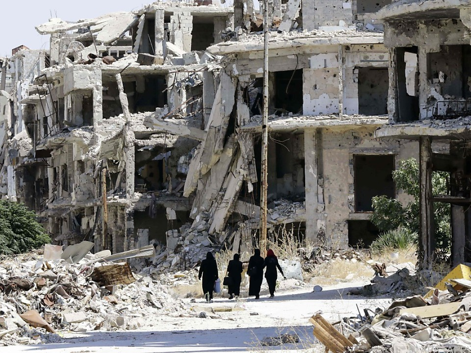 Der jahrelange Krieg hat in Syrien deutliche Spuren hinterlassen