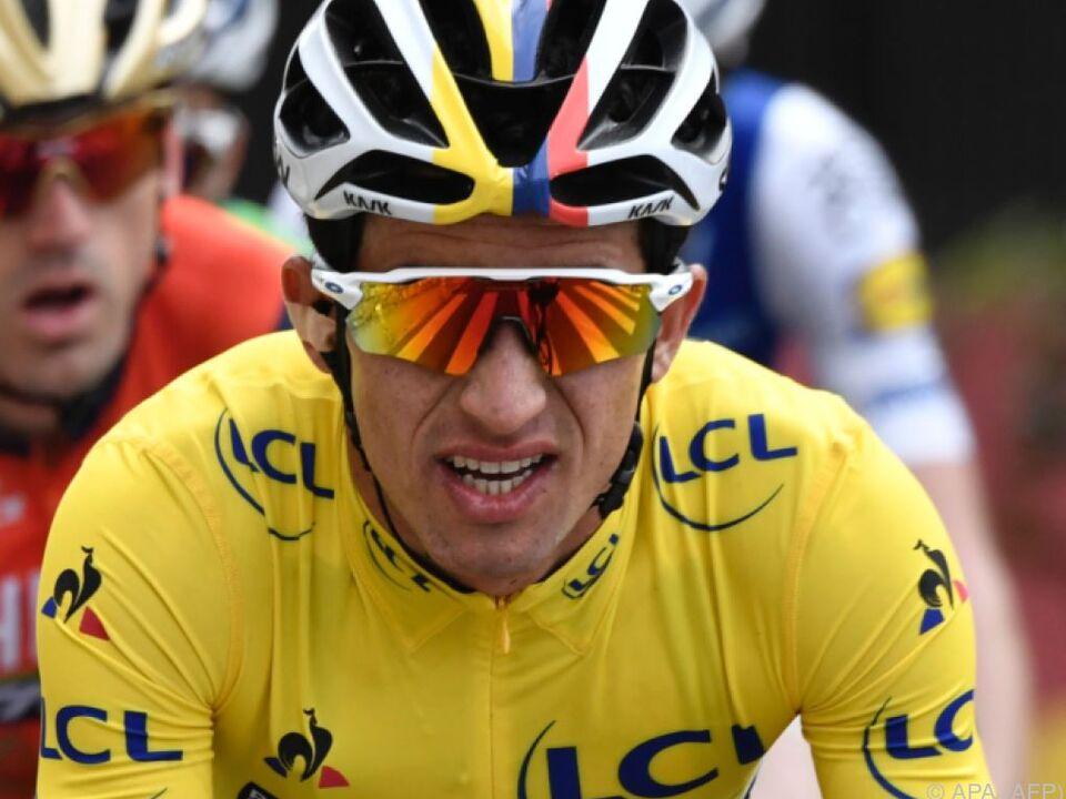 Der Kolumbianer rettete zwei Sekunden Vorsprung ins Ziel