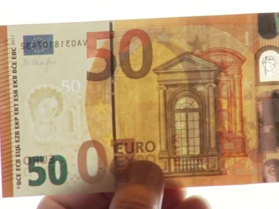Der neue 50-Euro-Schein kommt