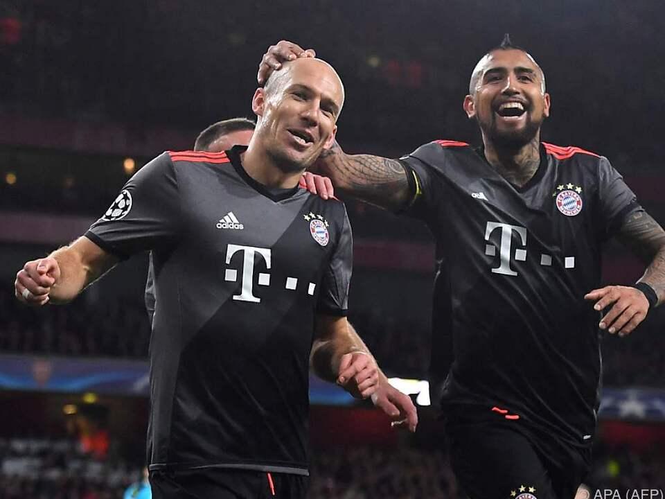 Die Bayern präsentierten sich in Torlaune