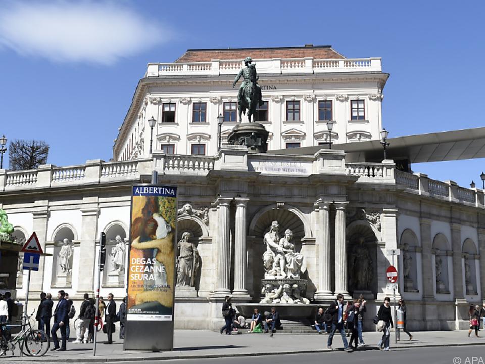 Die bereits dritte hausinterne Präsentation der Albertina-Fotosammlung