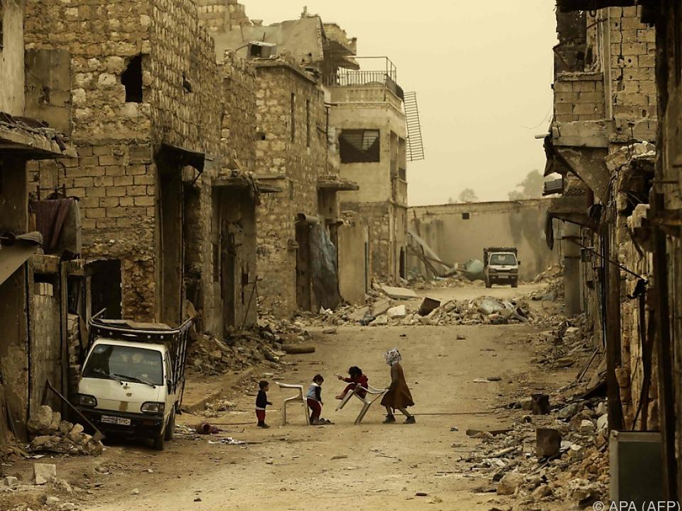 Die Kinder leiden ihr Leben lang unter dem Krieg