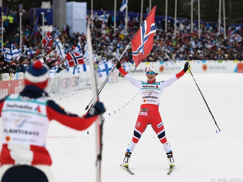 Die Norwegerinnen durften sich freuen