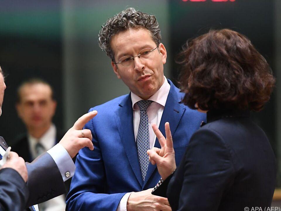 Dijsselbloems Zukunft als Eurogruppen-Chef ist ungewiss