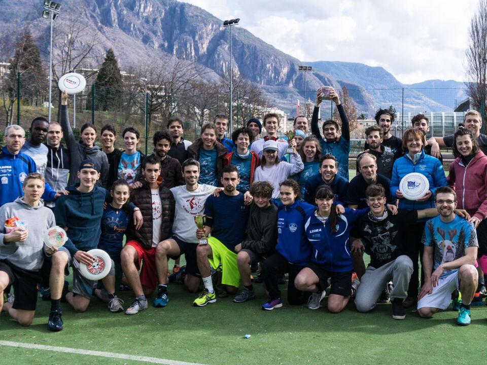 Erstes Ultimate Frisbee Turnier in Südtirol