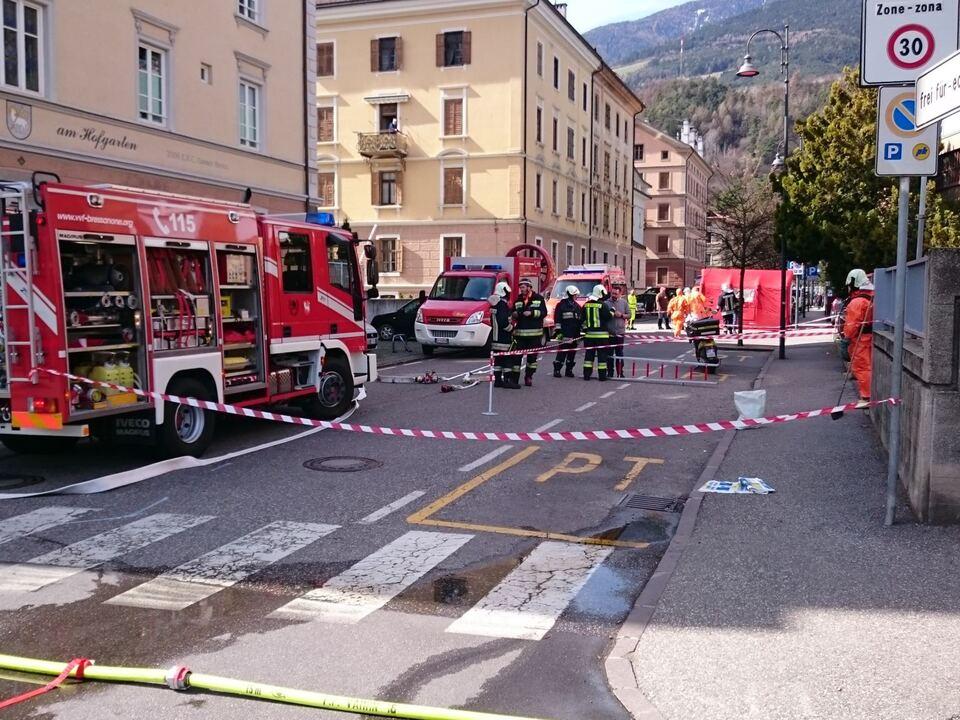 Freiwillige Feuerwehr Brixen Post Chemie
