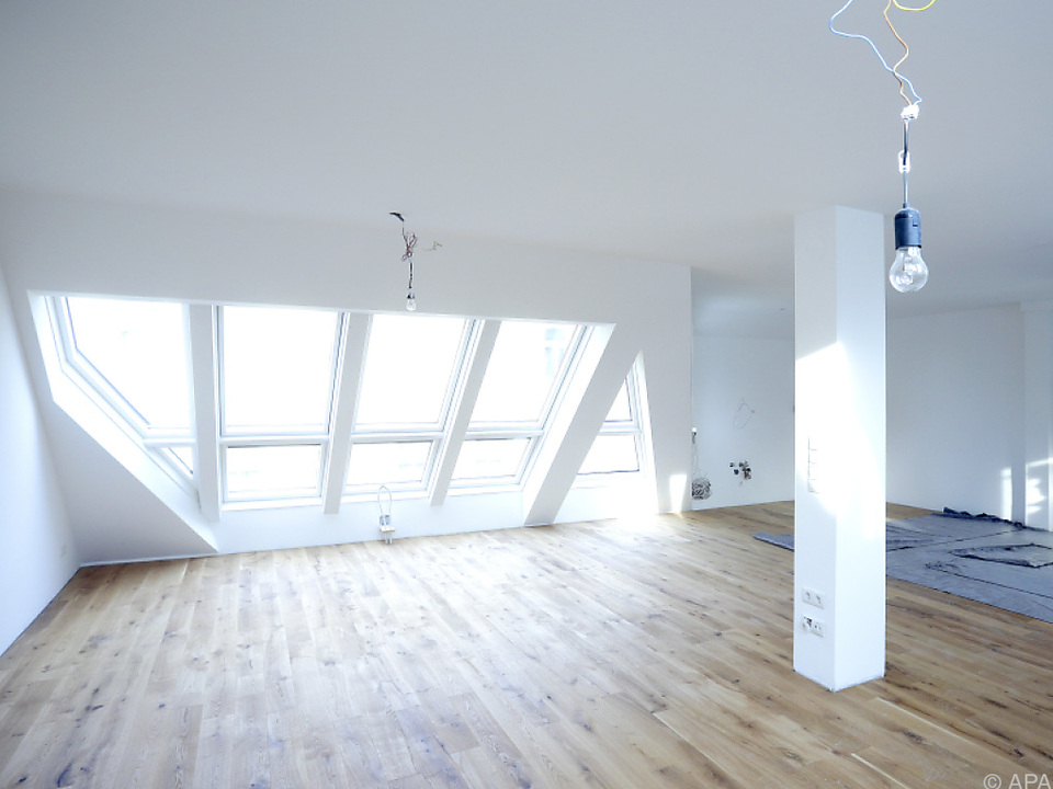 Eine Wohnung wie diese ist für viele nicht mehr leistbar