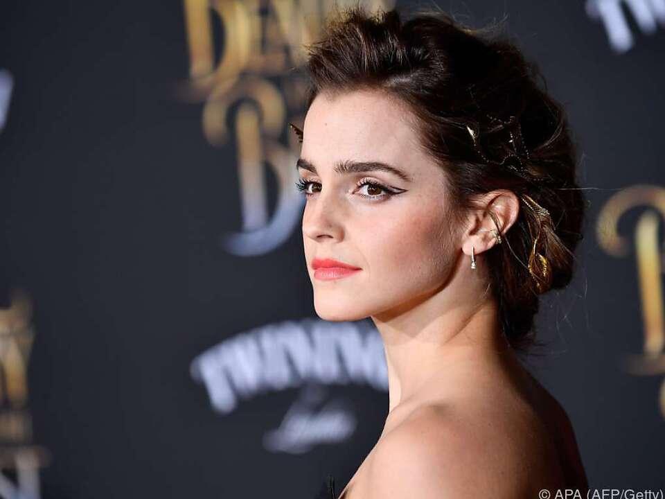 Emma Watson spielt die Schöne