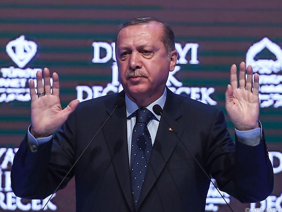 Erdogan würde das Gesetz \