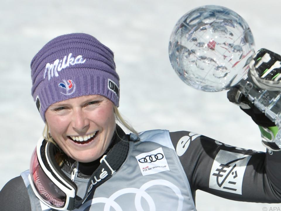 Erste Kristallkugel für die zweifache RTL-Weltmeisterin