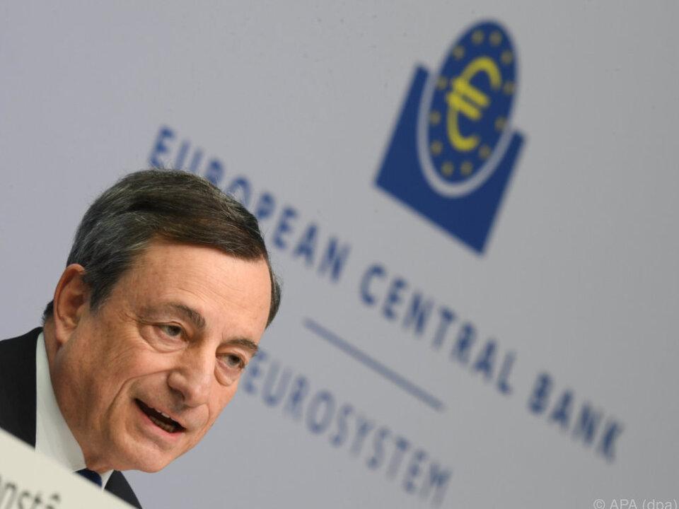 EZB-Präsident Mario Draghi will geldpolitischen Impuls