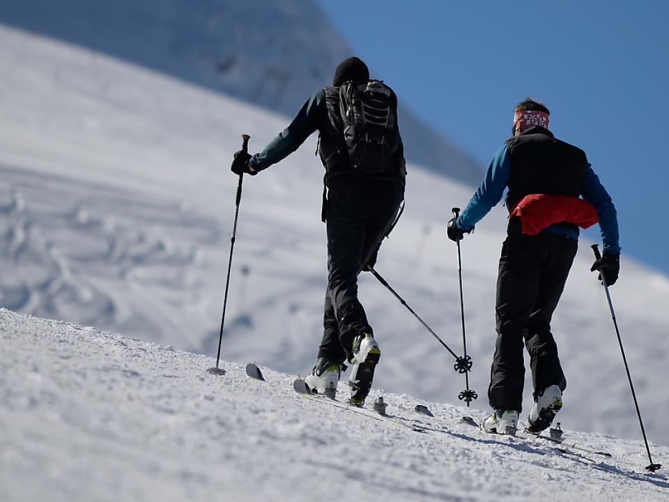 Große Landschaftsbelastung in Sölden  skitouren