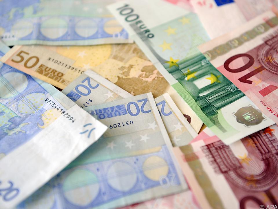 Insgesamt wurden 4,4 Mrd. Euro an Familienbeihilfe ausgeschüttet geld