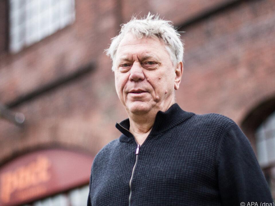 Intendant Johan Simons auf dem Gelände der Zeche Zollverein in Essen
