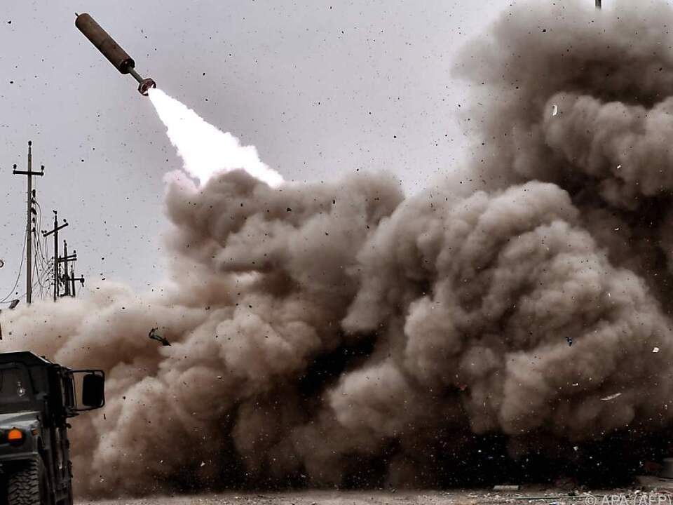Irakische Streitkräfte auf dem Vormarsch