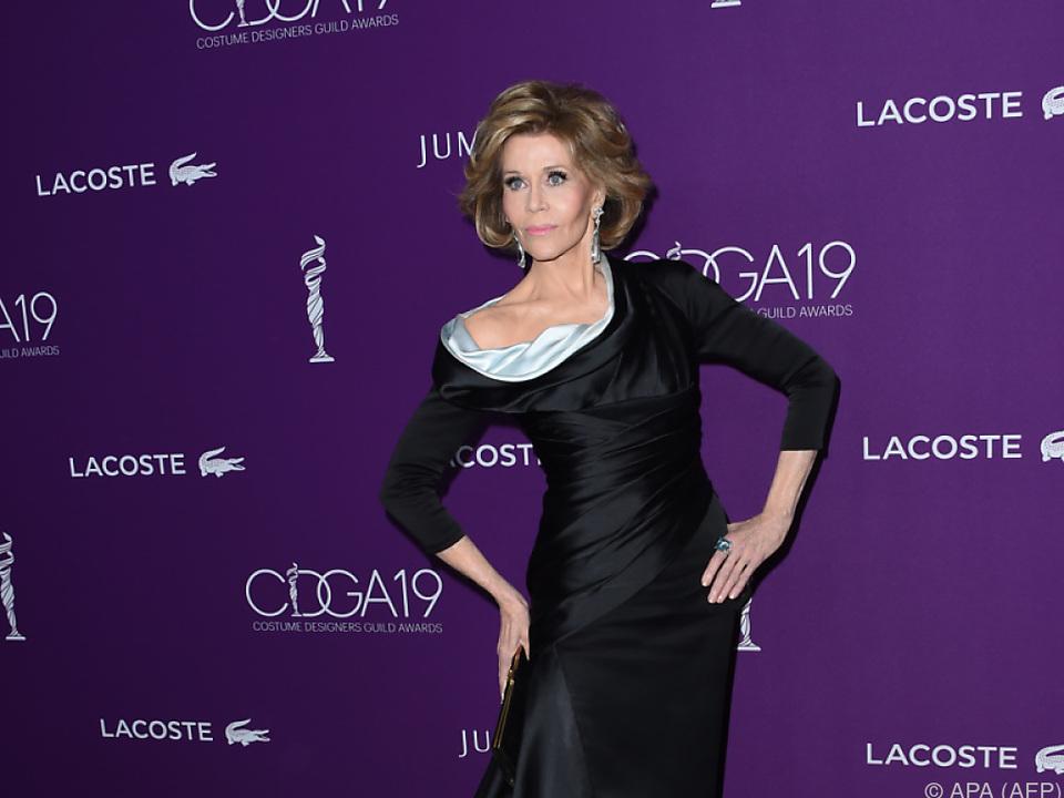 Jane Fonda setzt sich seit Jahrzehnten für Frauenrechte ein