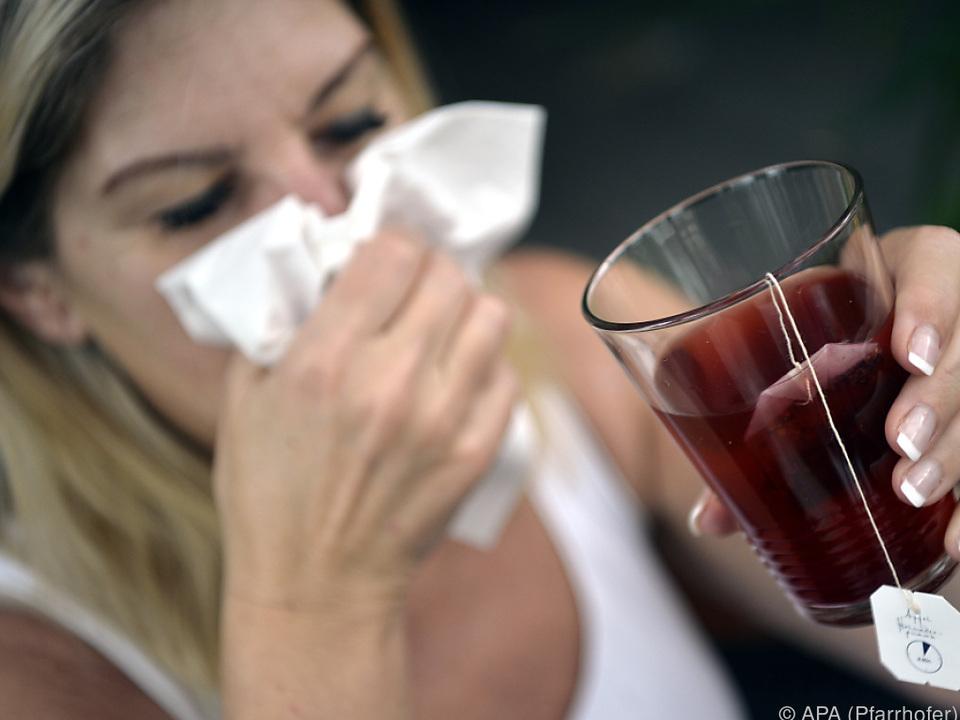 Jetzt ist die Grippesaison vorbei krank