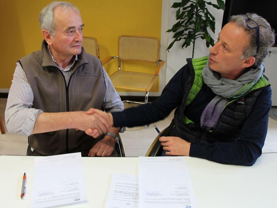 Johann Mayr (ANMIL) & Martin Telser (Dachverband)