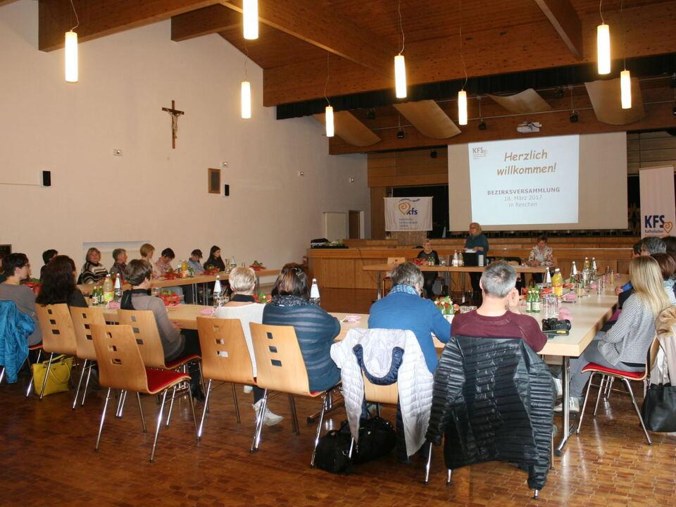 KFS-Vinschgau Versammlung Vereinshaus Reschen