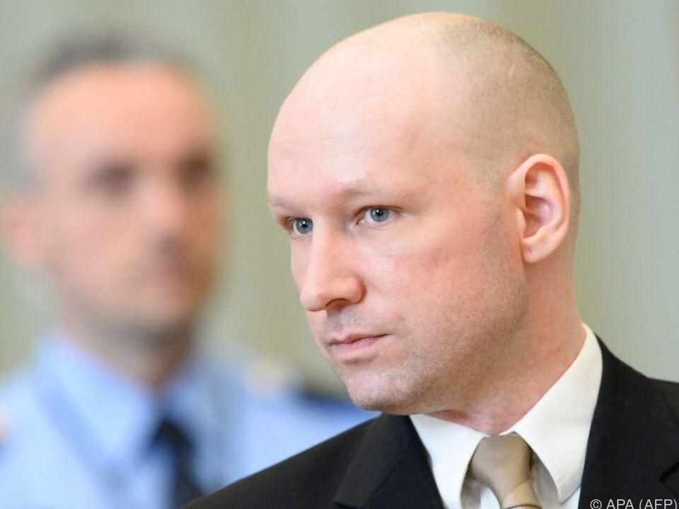 Klage von Breivik wurde zurückgewiesen